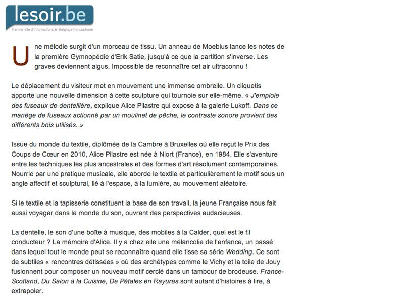 Le soir.be_21 mars 2012